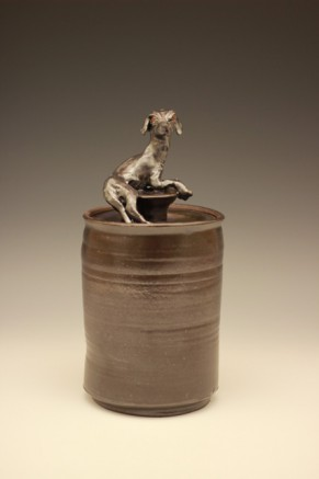 Animal Covered Jar
